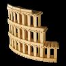 gioco mattoncini legno colosseo